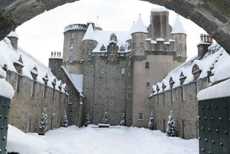 "Previous pinner: Castle Fraser in Scotland -- SH: Click-through has a number of other photos of this castle which is ""the largest and most elaborate of Scottish castles built on the Z-plan design."""