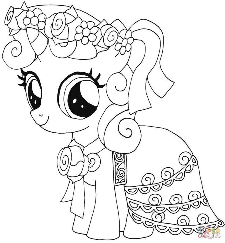 ausmalbilder my little pony  malvorlagen kostenlos zum