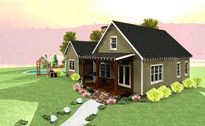Dog trot house plan home house plans and dog trot house for Dogtrot home plans