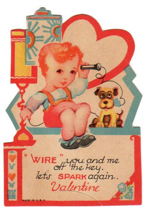 Best 1476 VALENTINES DOG VINTAGE images – Talking Valentine Cards