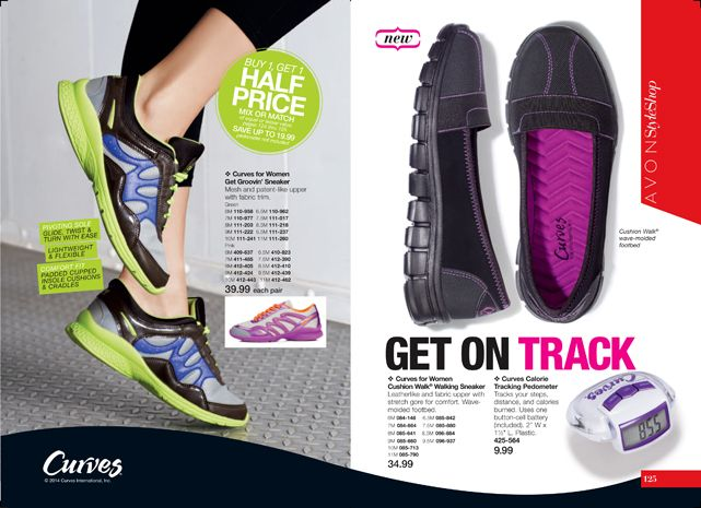 Avon 2014 great work out shoes curves youravon com vgabbard