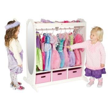 Cute princess dress storage