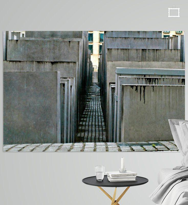 Das Judische Denkmal Am Brandenburger Tor In Berlin Poster Silva Wischeropp Ohmyprints Stadtlandschaft Denkmal Berlin