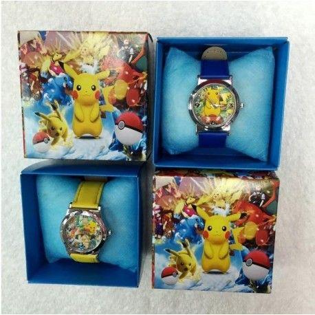 Pikachu ou Frozen Montre+écrin cadeau pas cher edition limité