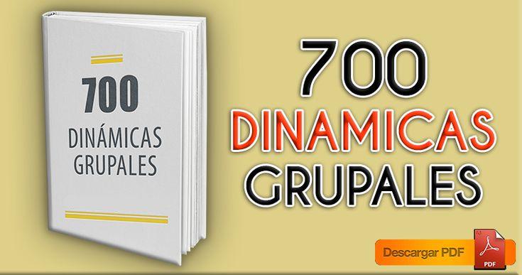 700 dinámicas grupales | Material para maestros
