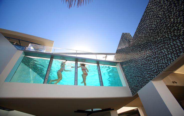Rumba S Glass Wall Swimming Pools Pinterest Glass Walls And Glasses