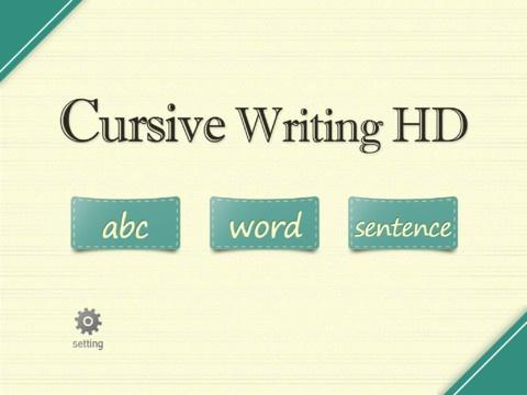 cursive handwriting app uk