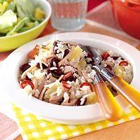 Recept - Rijst met bonen en ananas - Allerhande blijvertje