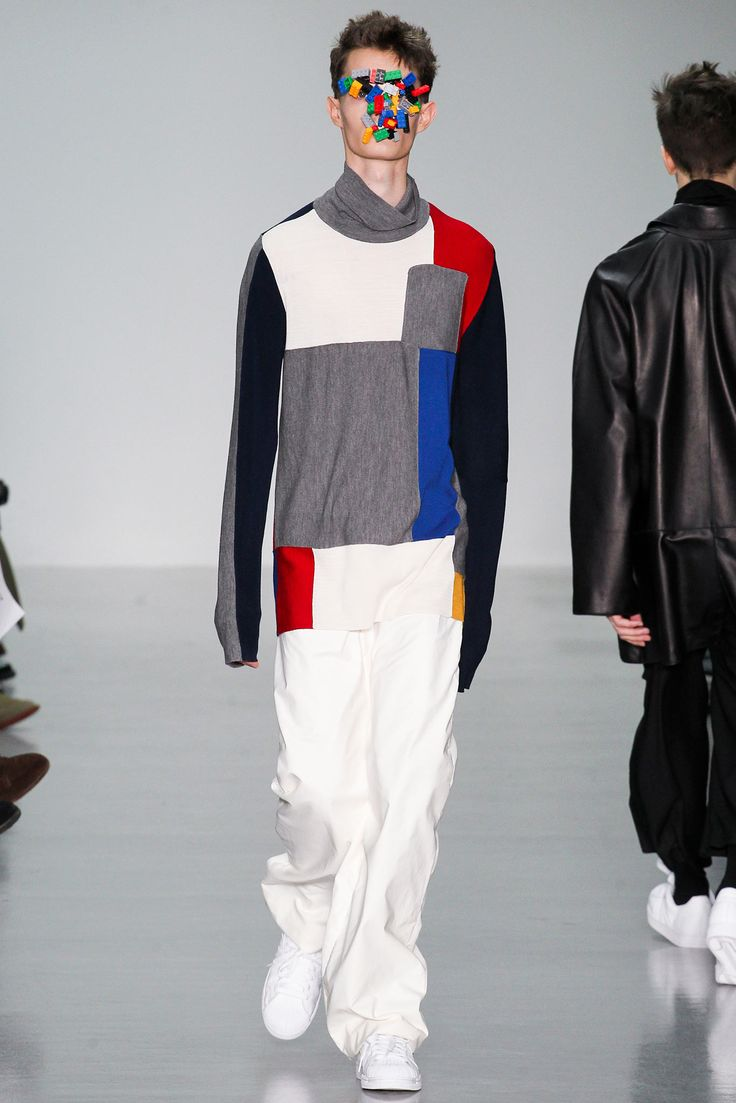 Agi & Sam Fall 2015 Menswear - Collection - Gallery - Style.com COLOR BLOCKING