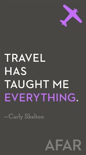 Here's a little travel inspiration to get us started! Do you agree?