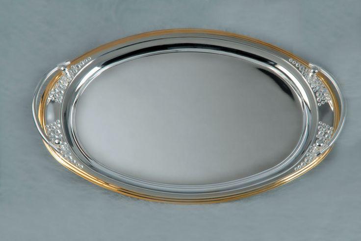 Sandy Silver or Gold Plated - Είδη γάμου & βάπτισης, μπομπονιέρες γάμου | tornaris-rina.gr
