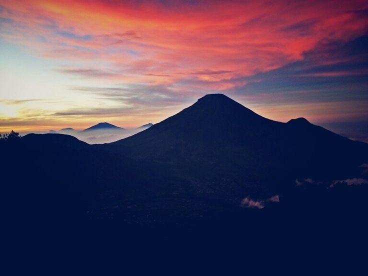 Sunrise at sikunir