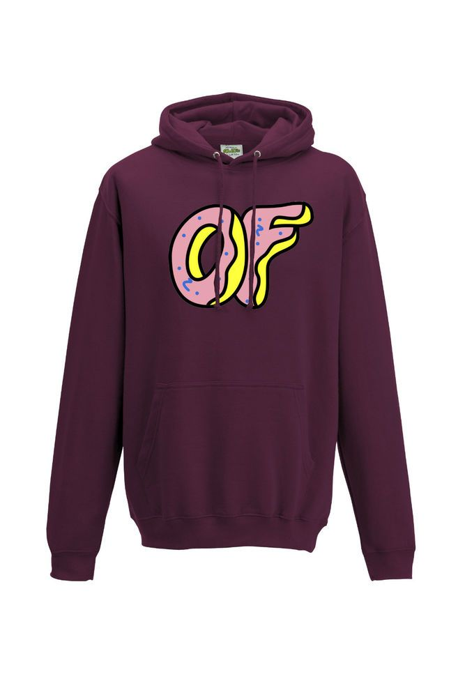 ODD FUTURE DOUGHNUT DONUT - TYLER THE CREATOR EARL OFWGKTA HOODY TOP - NEW