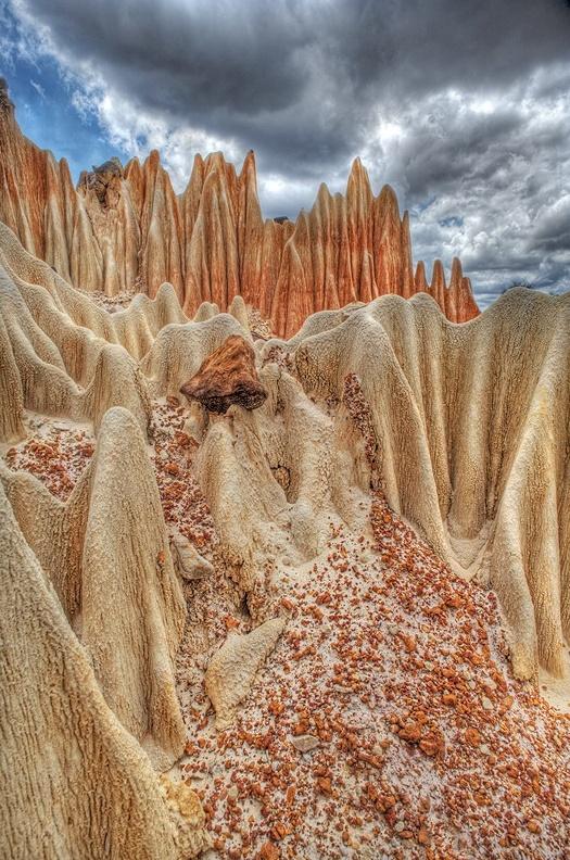 Red Tsingy, Antsiranana, Madagascar