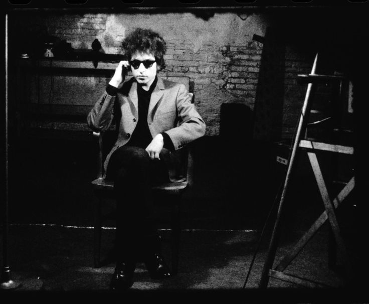 Andy Warhol - Frame enlargement from Screen Test ST82, Bob Dylan, 1966. 16mm film, b&w, silent; 4.1 minutes