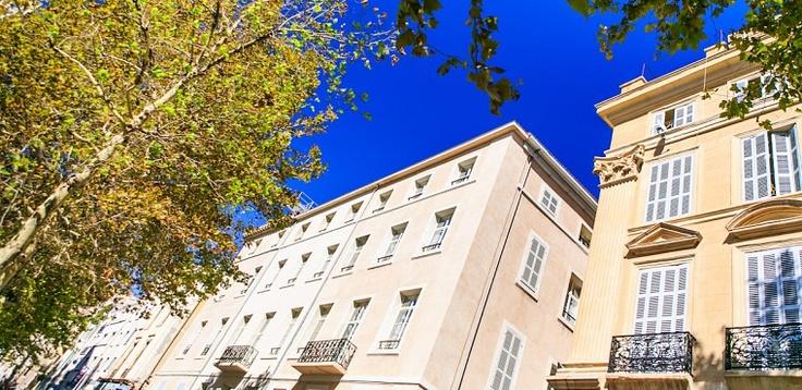 Le bâtiment du Quality Hotel Marseille Vieux Port - Hotel Marseille Centre   The building of Quality Hotel Marseille Vieux Port