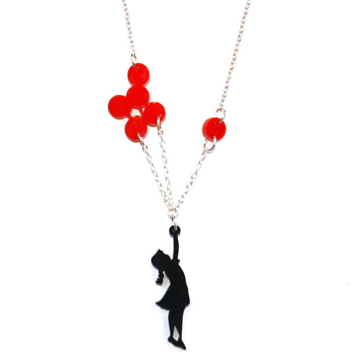 Balloon Girl Necklace | Quirky & Kitsch Jewellery & Accessories