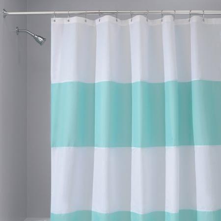 interdesign zeno mildewfree shower curtain