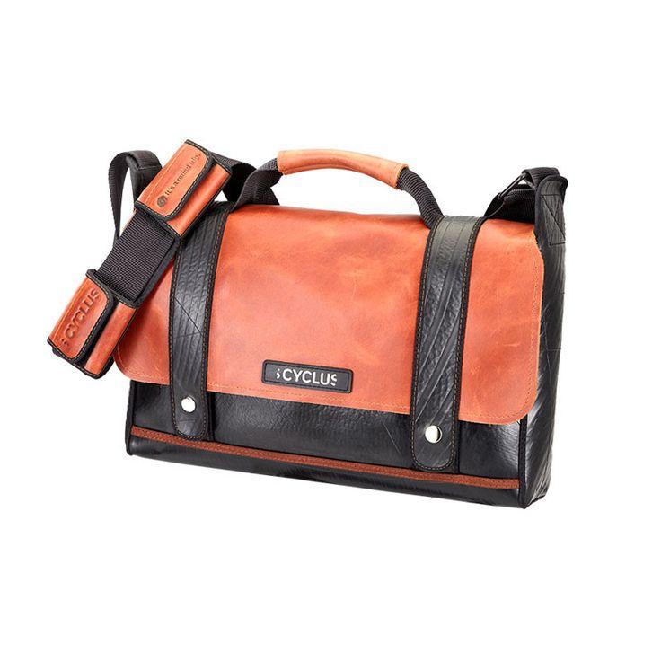 Brown Leather / Black Strap