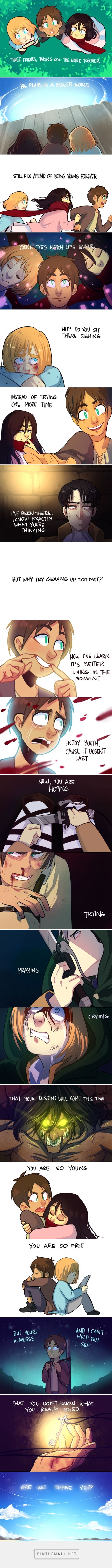 EMA: Crusaders. (Attack on Titan) Source: http://moeskine.tumblr.com/post/76980426413/e-o-m-o-a-c-r-u-s-a-d-e-r-s