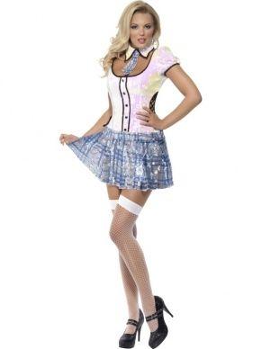 Fever School Girl Schoolmeisje Kostuum