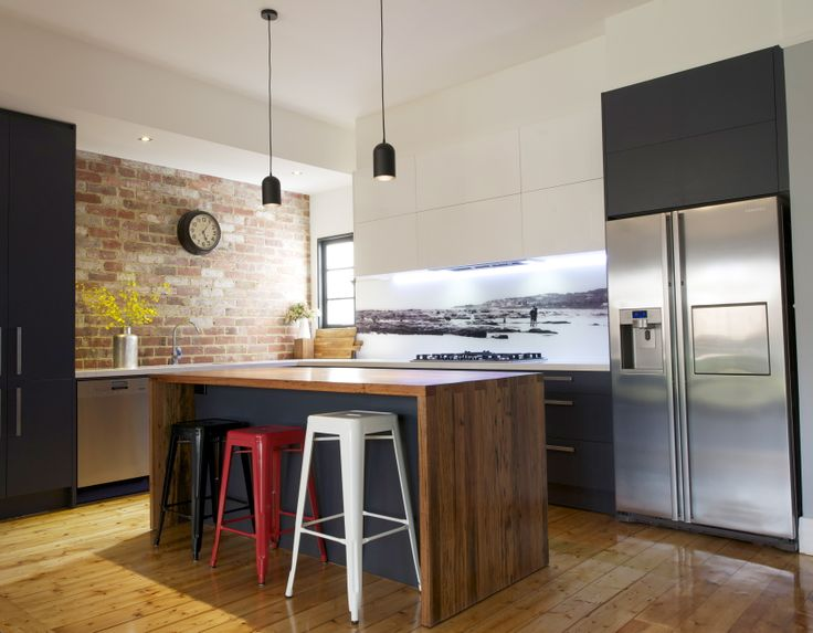 timber floors with timber benchtop
