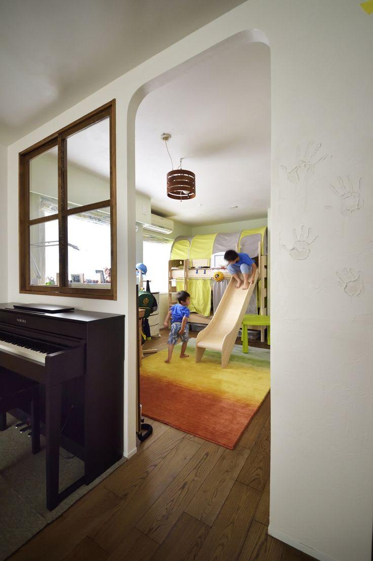 リフォーム・リノベーションの事例|子ども部屋|施工事例No.496無垢材や珪藻土。ほんもの素材はパパとママからの贈り物|スタイル工房