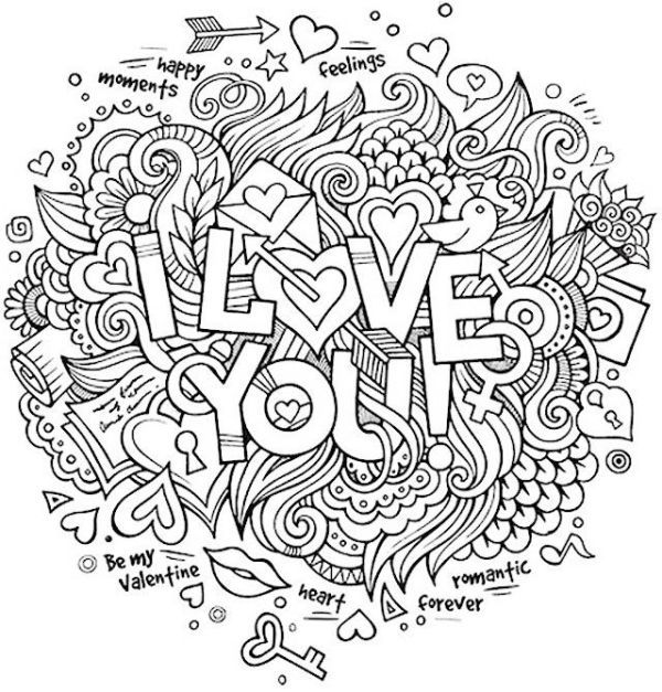 Romantic Love Quote Coloring Pages Printable - Free Coloring Sheets Quote Coloring  Pages, Love Coloring Pages, Coloring Pages