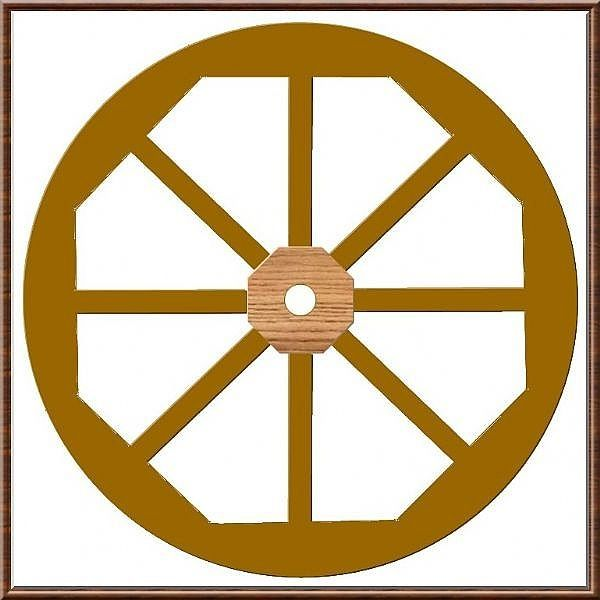How to Make a Wooden Wagon Wheel