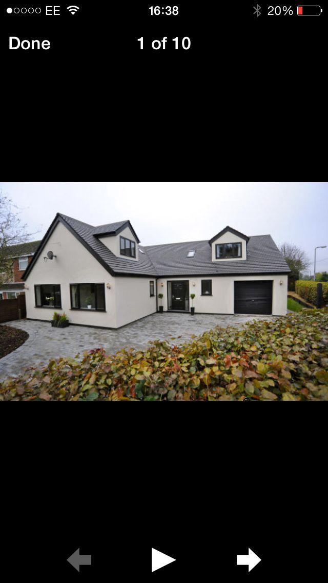 Hausfassade modern bungalow  Hausfassade Modern Bungalow | harzite.com