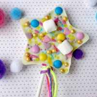 Een eenhoorn chocolade lolly maken als traktatie of cadeautje