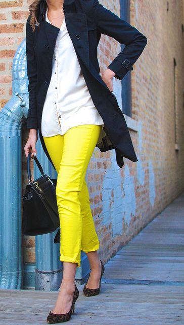 Burberry trench, Zara top, Gap pants, J Crew heels, Celine bag