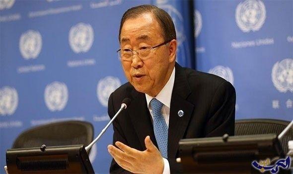 """""""بان كي مون"""" خذلنا شعب سورية والتاريخ…: حدث بان كي مون الأمين العام للأمم المتحدة المنتهية ولايته، أمام مجلس الأمن الدولي، عن الوضع في…"""