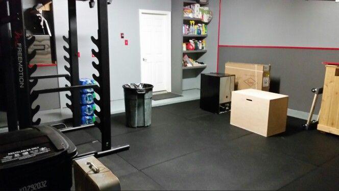 Home gym garage