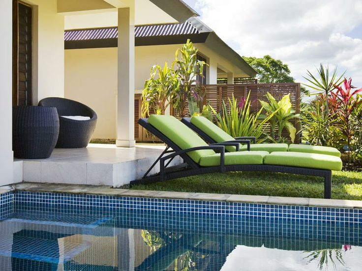 Put your feet up & enjoy the view at Mangoes Resort, Vanuatu. For more visit: http://www.airvanuatu.com/home/accommodation.aspx?location=Sydney