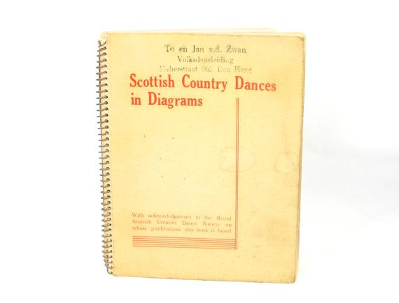 Scottish Country Dancing Instruction Booklet by VerifiedVintageNL