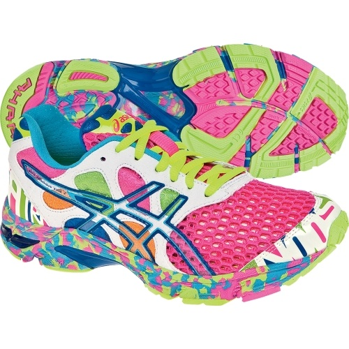 Just bought these today and I don't think I've ever been in love with a pair of sneakers till these! Neon asics!!!