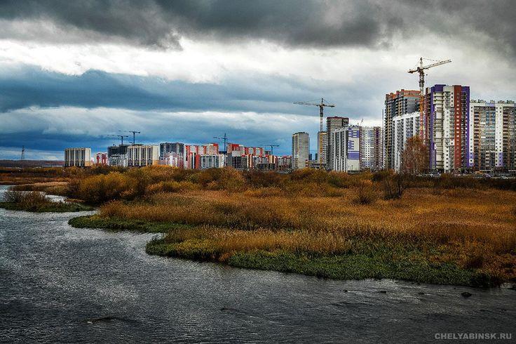Золотая осень озарила Челябинск - Фоторепортаж