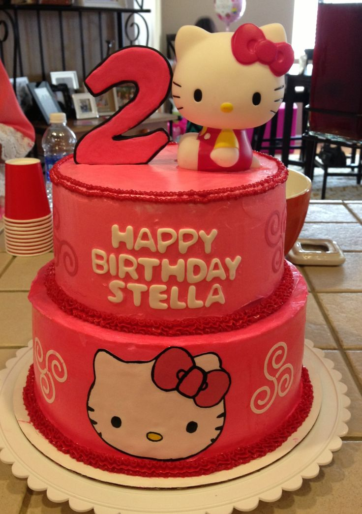 1000 images about hello kitty party on pinterest for 2nd birthday decoration