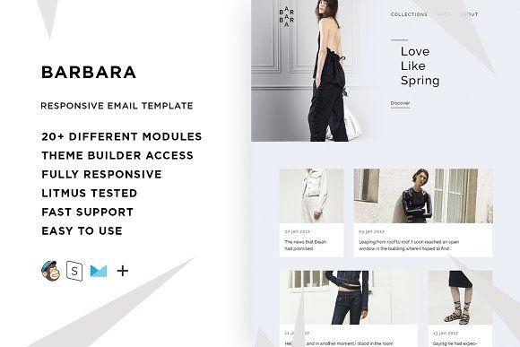 Barbara – Responsive Email template