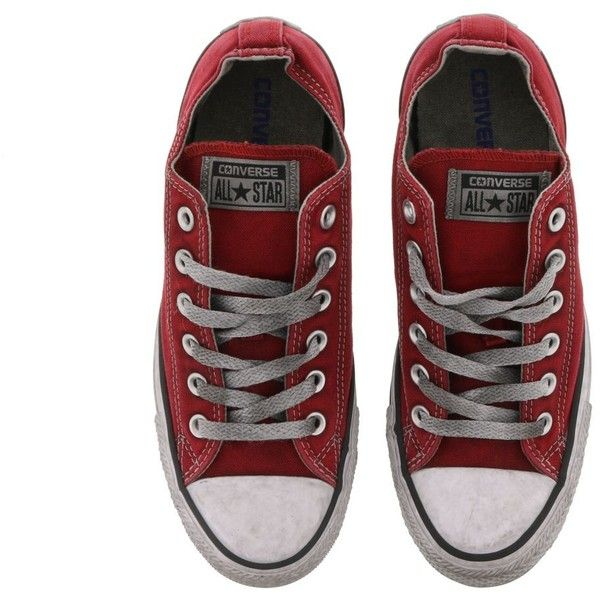 Converse Converse Chuck Taylor Sneakers (€82) ❤ liked on Polyvore featuring shoes, sneakers, chaussures, converse trainers, converse footwear, converse sneakers and converse shoes