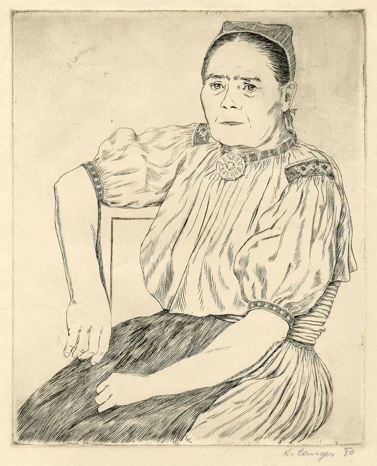 Karel Langer: Maměnka z Kopanic (Mom from Kopanice), 1930