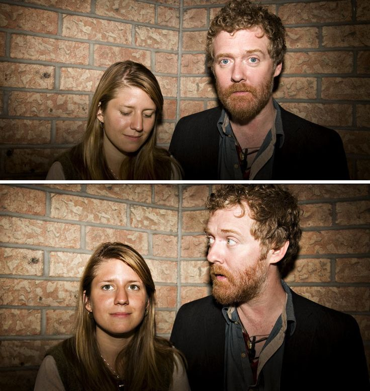 Glen Hansard, Marketa Irglova. I love these two. The movie ONCE is the best movie I have ever seen.