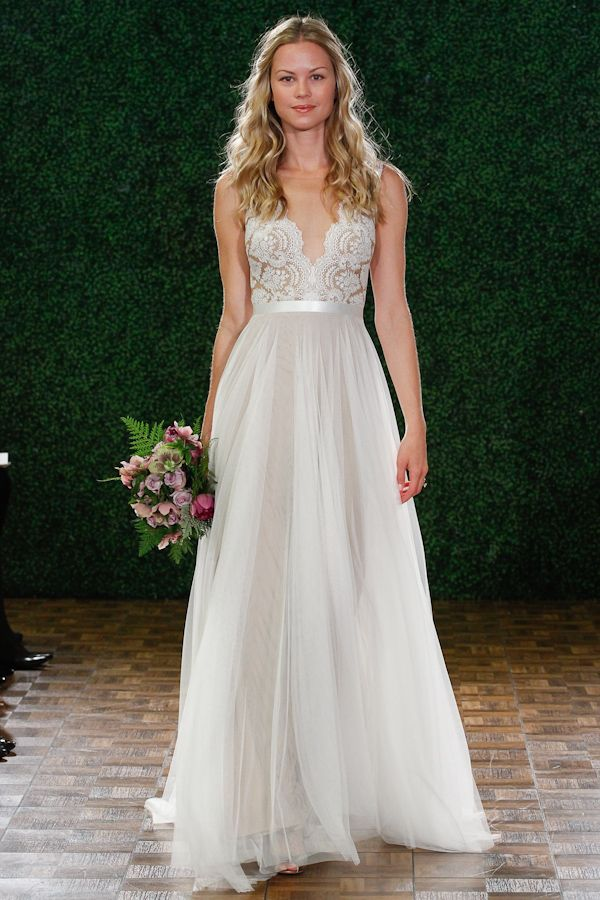 Nude and Blush Wedding Dresses – New Neutrals in the Spring 2015 Bridal Collection from Watters