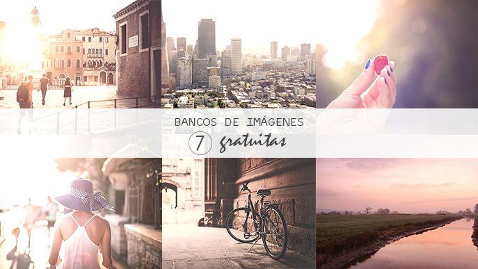 7 bancos de imágenes gratuitas | Aubrey and Me