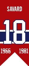 Serge Savard : En 1983, Savard est nommé directeur-gérant des Canadiens. En douze ans à la barre de l'équipe, les coupes Stanley de 1986 et 1993 viennent s'ajouter aux 8 conquêtes du précieux trophée comme joueur. Membre du Temple de la renommée du hockey depuis 1986, Savard passe aujourd'hui le plus clair de son temps à s'occuper de ses actifs dans l'immobilier. Son chandail numéro 18 a été retiré par les Canadiens le 18 novembre 2006.