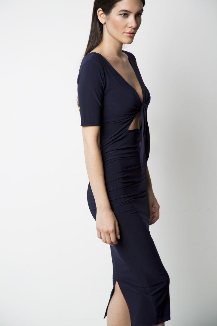 http://artigogna.myshopify.com/products/front-tie-dress-navy