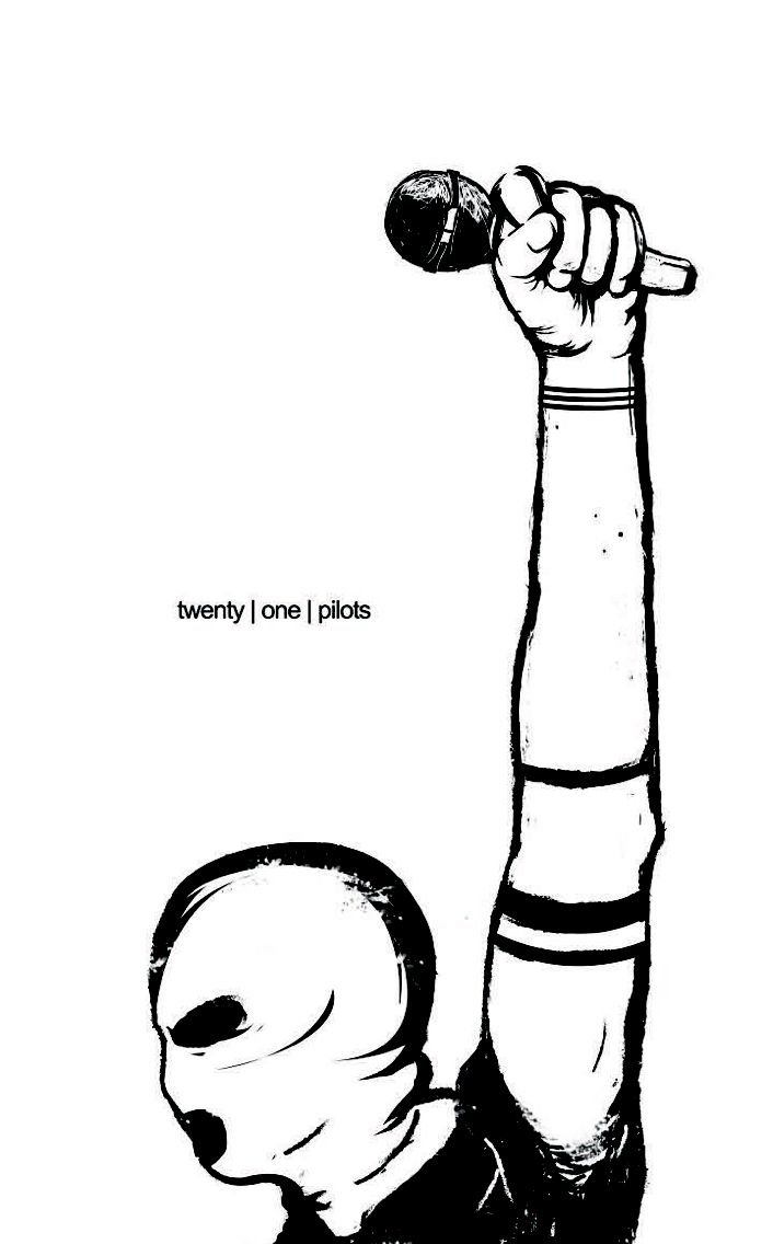 Twenty one pilots logo coloring coloring pages for Twenty one pilots