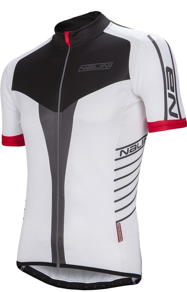 Nalini Red Ti Summer Jersey - Red Label Collection Nalini Red Ti Short Sleeve Jersey is ready for for hot weather riding. Nalini Red Ti jersey pulls the sweat away from your body to the outer surface