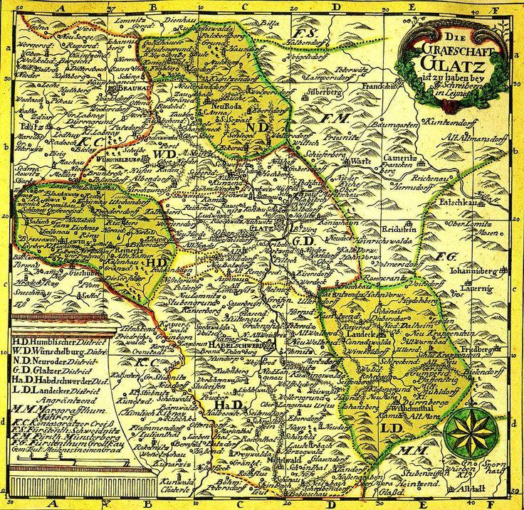 County of Kladsko map - Grafschaft Glatz – Wikipedia